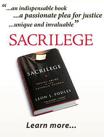 Sacrilege, by Leon J. Podles. Published by the Crossland Foundation